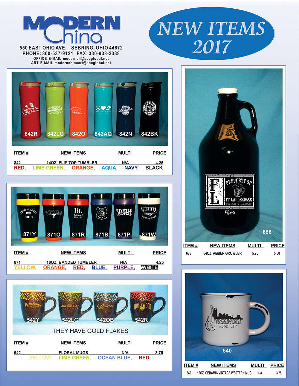 Modern China New Items for 2016-Page 4