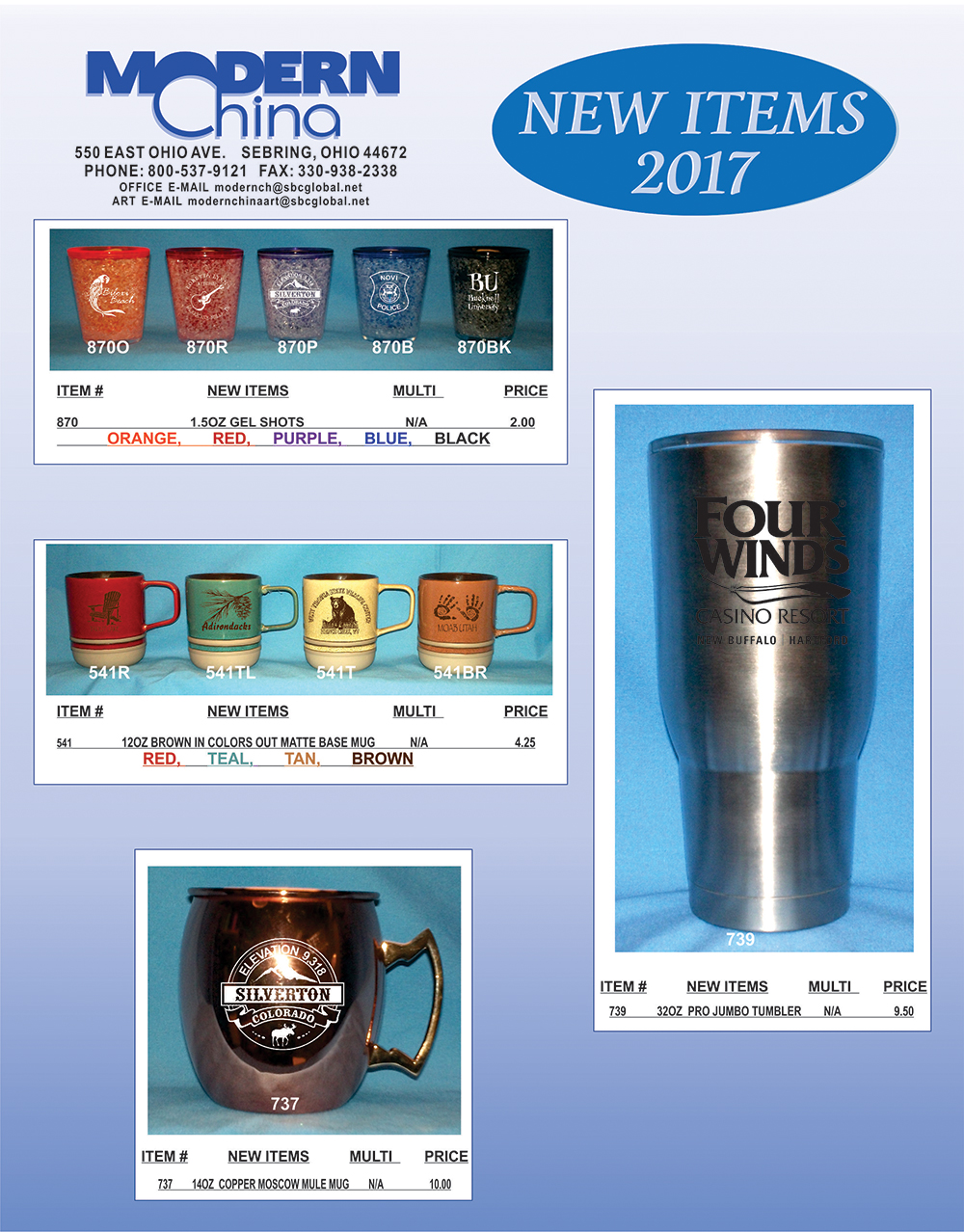 Modern China New Items for 2016-Page 5